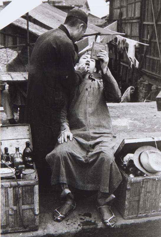 China, Chungking, Street Dentist