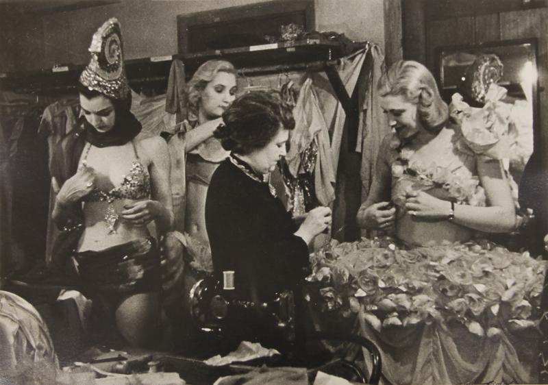 London, England, Dressing Room