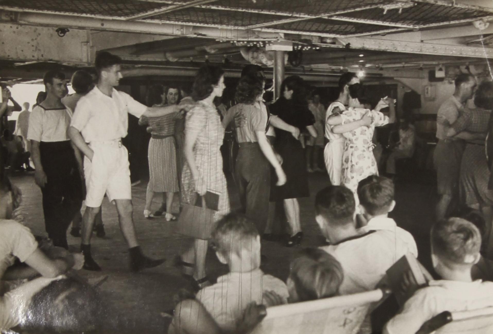 On the Boat to Ceylon (Sri Lanka)