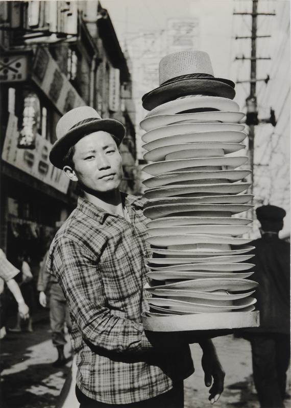 Korea, Hat seller