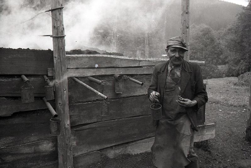 Austria, Filzmoos, Coal burner
