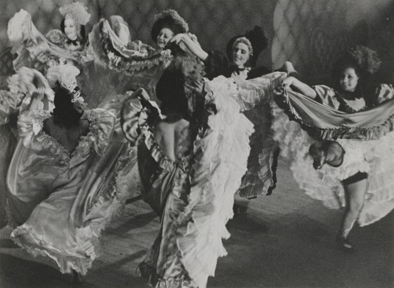 London, England, French cancan