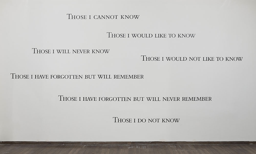 Douglas Gordon, Digital drawing, Untitled (Unavoidable), 1992