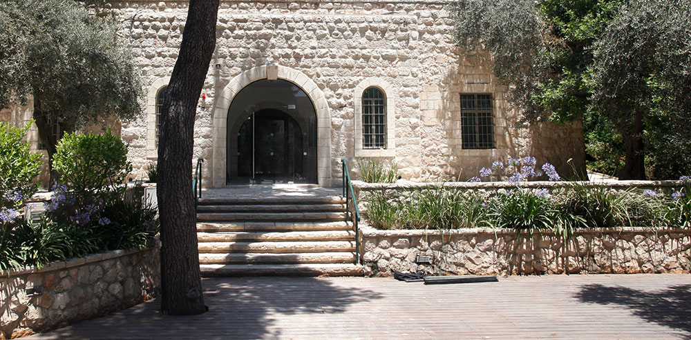Ticho House in downtown Jerusalem